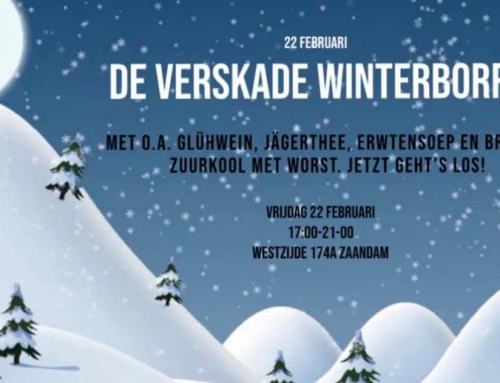 Winterborrel in de VersKade