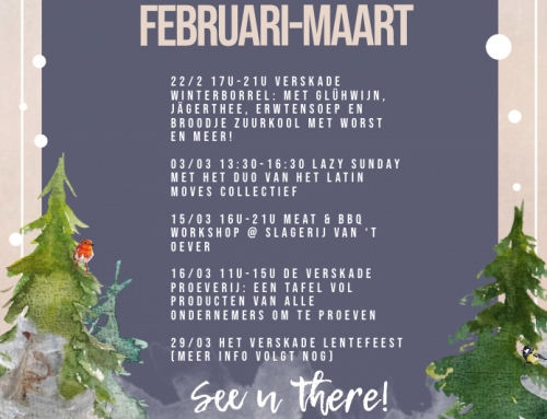 VersKade Events in februari & maart